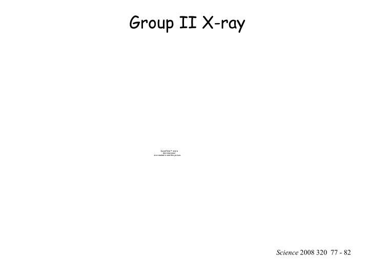 Group II X-ray