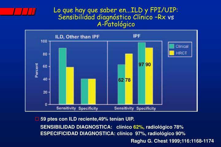 Lo que hay que saber en...ILD y FPI/UIP: