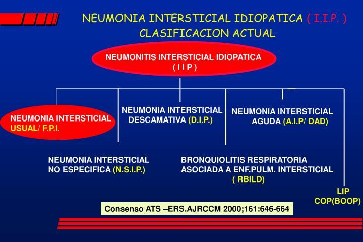 NEUMONIA INTERSTICIAL IDIOPATICA