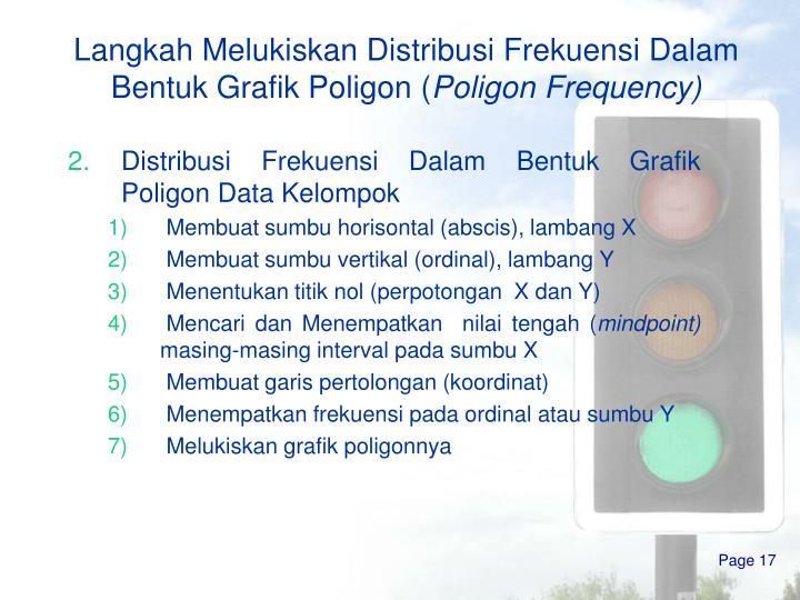 Ppt distribusi frekuensi powerpoint presentation id3387400 langkah melukiskan distribusi frekuensi dalam bentuk grafik poligon poligon frequency distribusi frekuensi dalam bentuk grafik poligon data kelompok ccuart Gallery