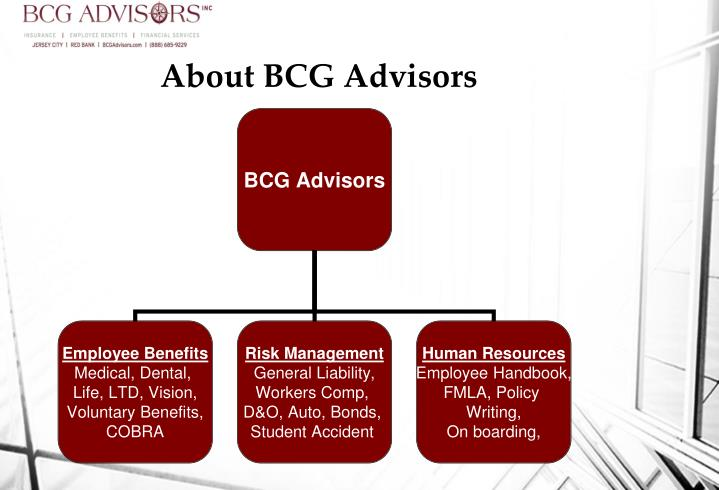 About bcg advisors