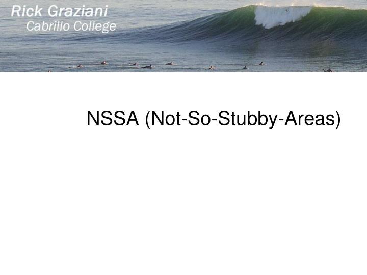 NSSA (Not-So-Stubby-Areas)