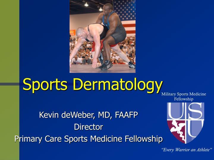 PPT - Sports Dermatology PowerPoint Presentation - ID:3387811
