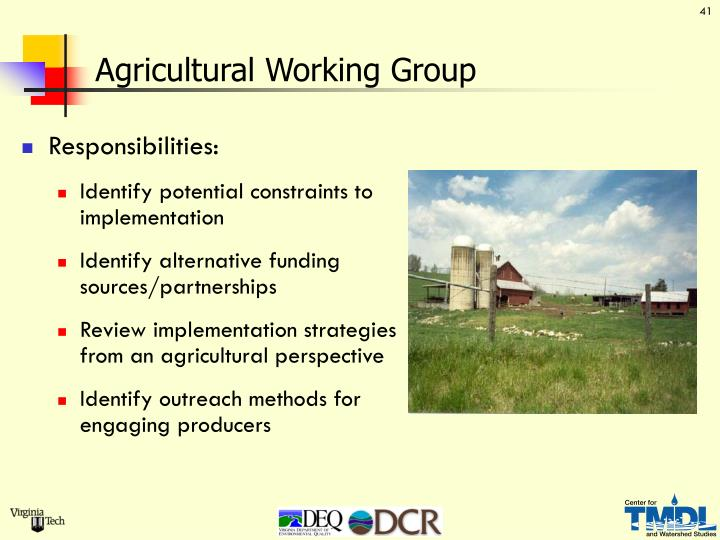 Agricultural Working Group