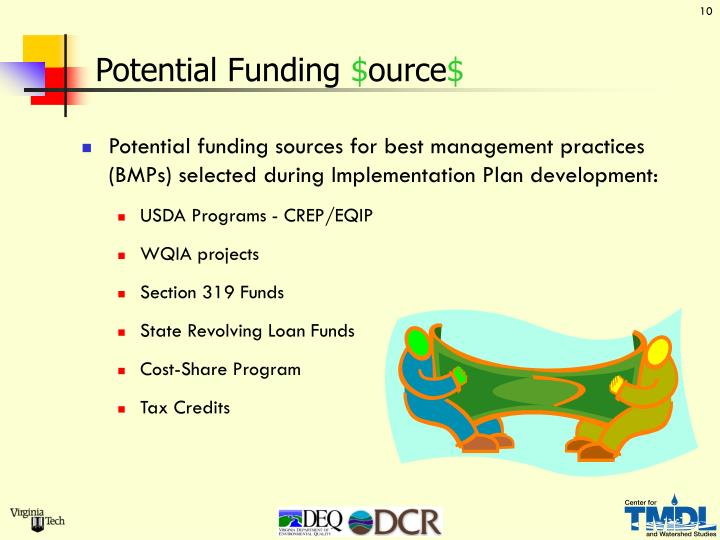Potential Funding