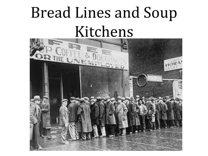 What Did Soup Kitchens Provide
