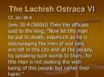 the lachish ostraca vi
