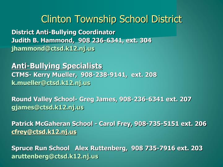 Clinton township school district