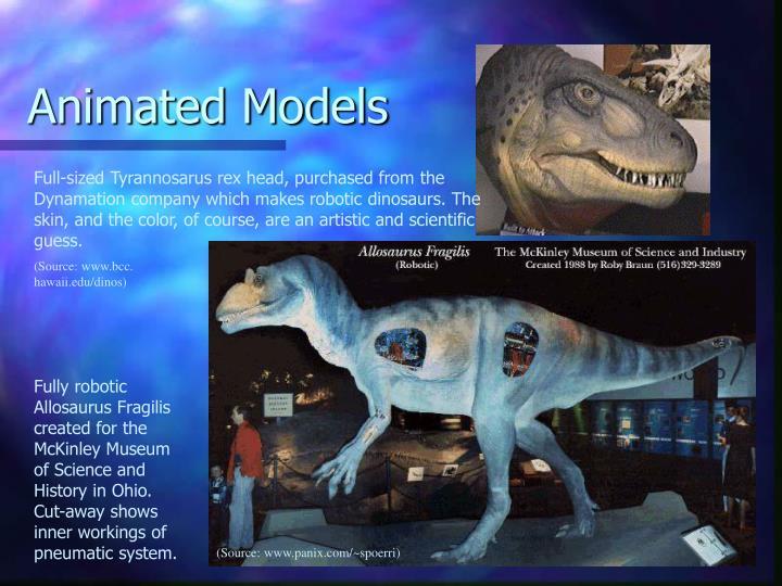 Animated Models