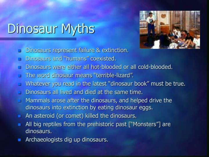 Dinosaur Myths