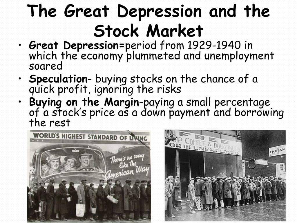 PPT - The Roaring '20s and the Great Depression PowerPoint ...