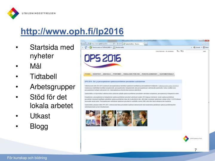 http://www.oph.fi/lp2016