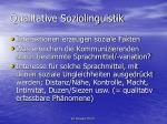 qualitative soziolinguistik1