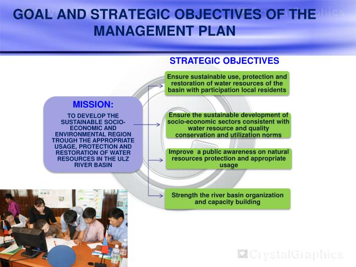 GOAL AND STRATEGIC OBJECTIVES OF THE MANAGEMENT PLAN