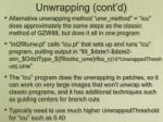 unwrapping cont d3