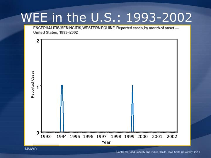 WEE in the U.S.: 1993-2002