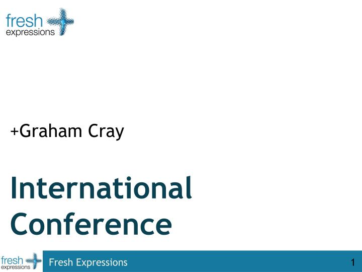 international conference n.