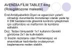 avend a f lm tablet 4mg ros glatozone maleate