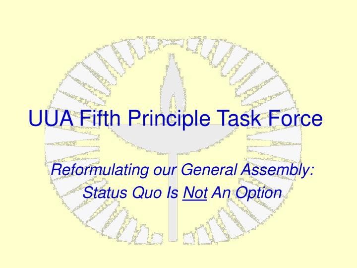 uua fifth principle task force