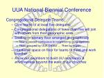 uua national biennial conference
