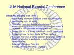 uua national biennial conference6