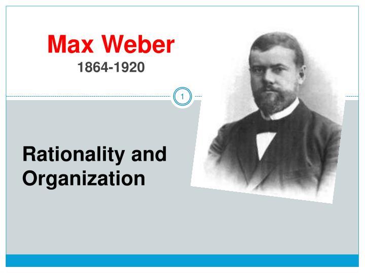 max weber 1864 1920 n.