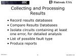collecting and processing results