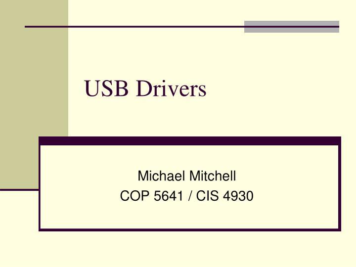 usb drivers n.