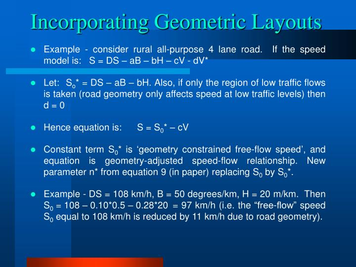 Incorporating Geometric Layouts