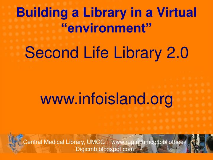 """Building a Library in a Virtual """"environment"""""""