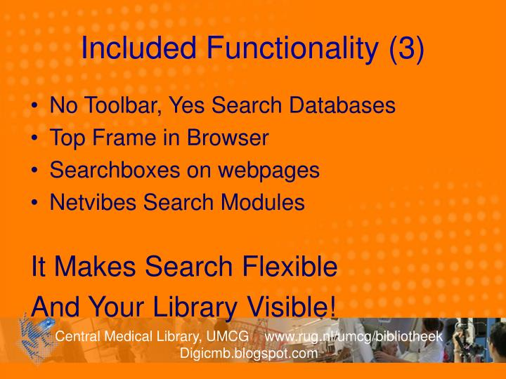 Included Functionality (3)