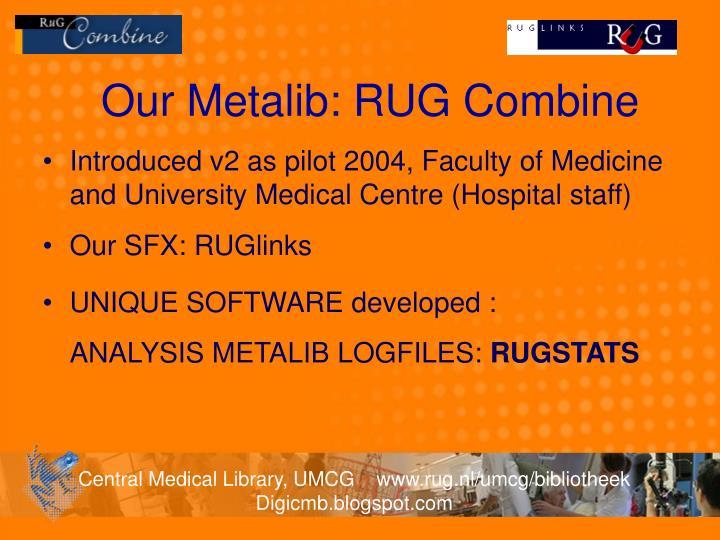 Our Metalib: RUG Combine