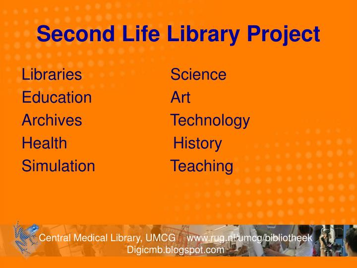 Second Life Library Project
