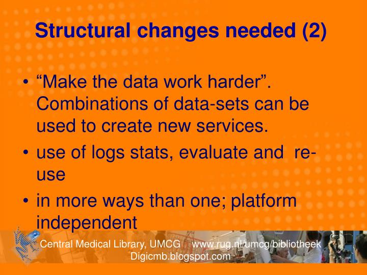 Structural changes needed (2