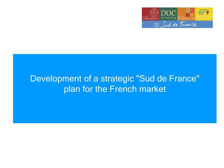 Development of a strategic