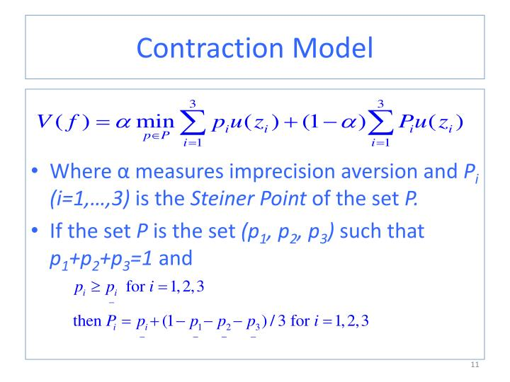 Contraction Model