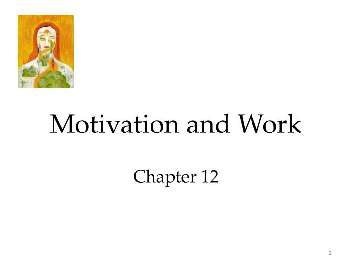 motivation and work chapter 12 n.