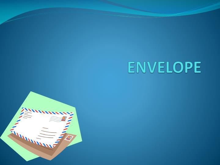 envelope n.