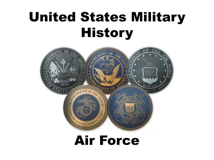 united states military history n.