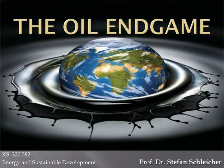 the oil endgame n.