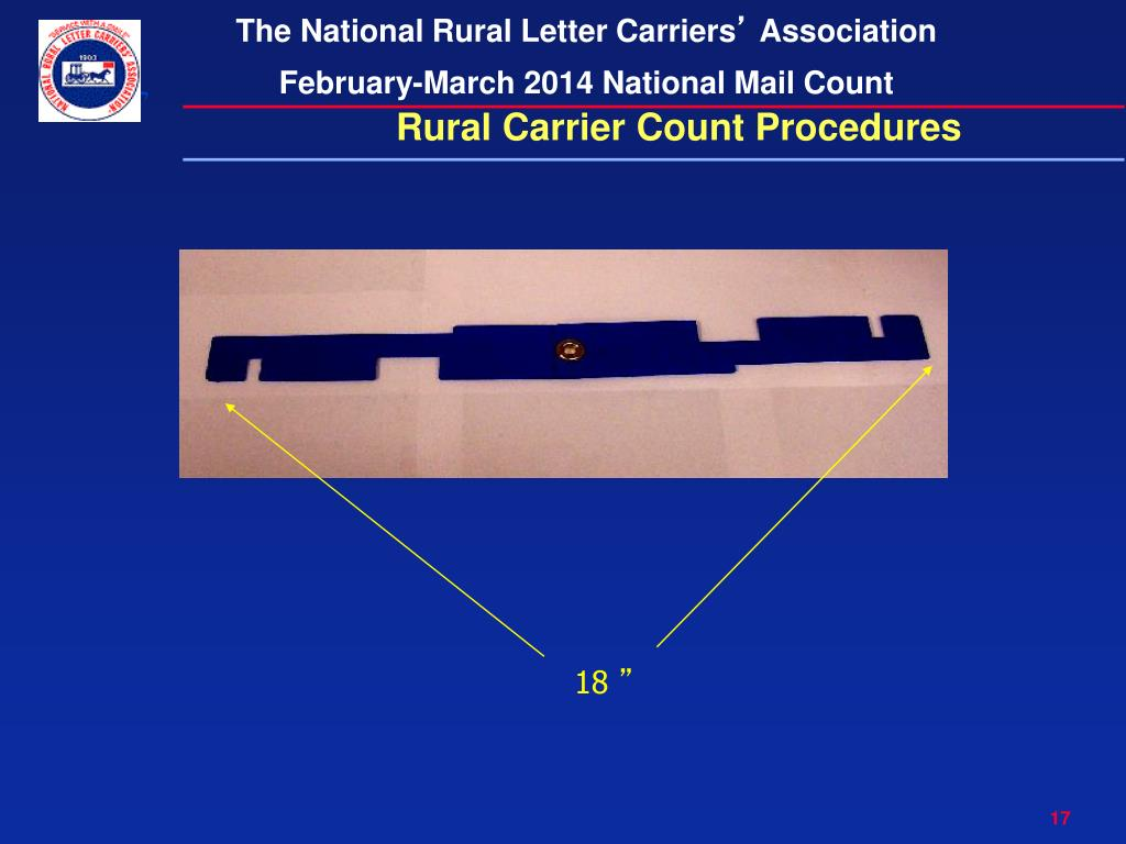 PPT - NATIONAL RURAL LETTER CARRIERS ' ASSOCIATION February