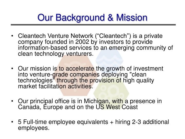 Our Background & Mission