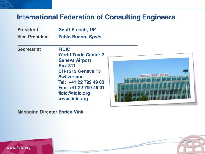 International Federation of Consulting