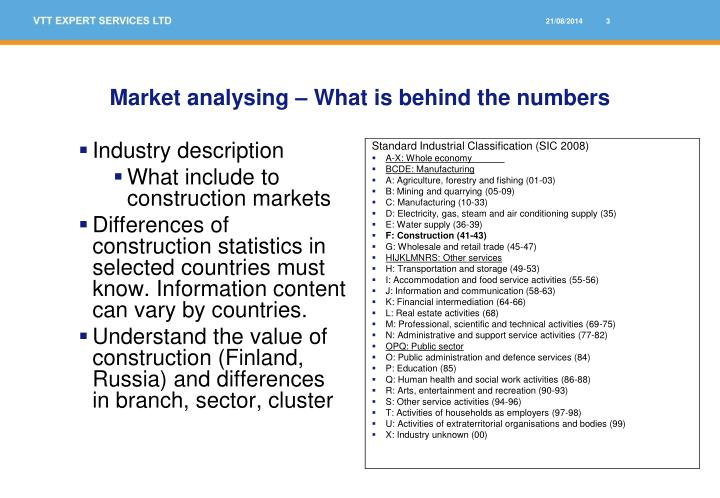 Market analysing what is behind the numbers