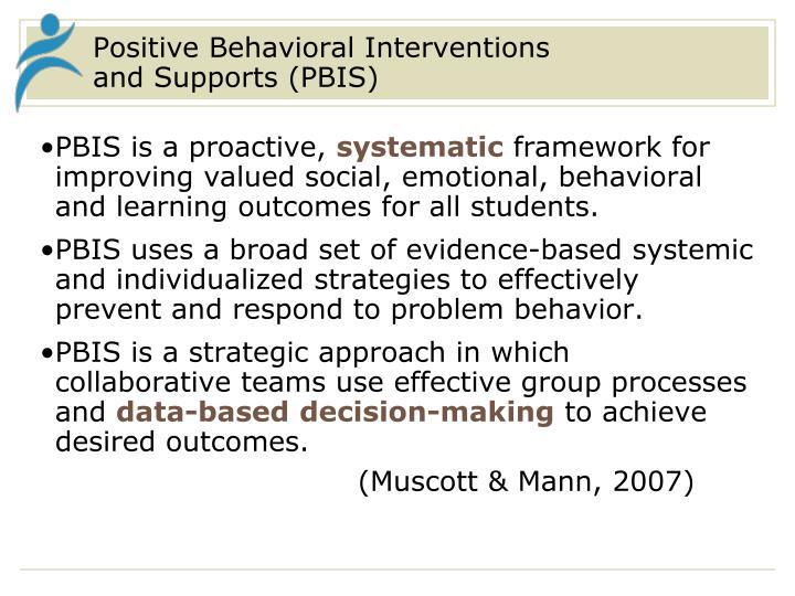 Positive Behavioral Interventions