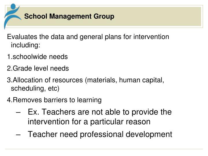 School Management Group