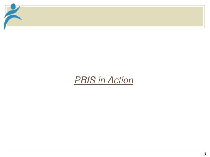 PBIS in Action