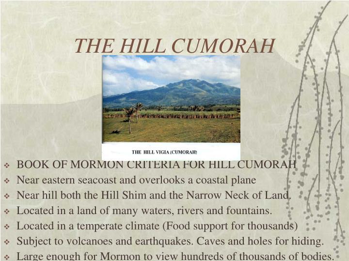 THE HILL CUMORAH