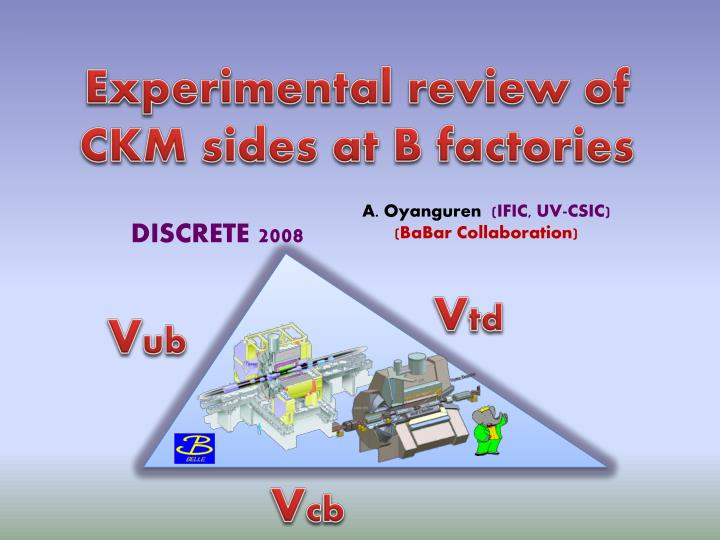 Experimental review of