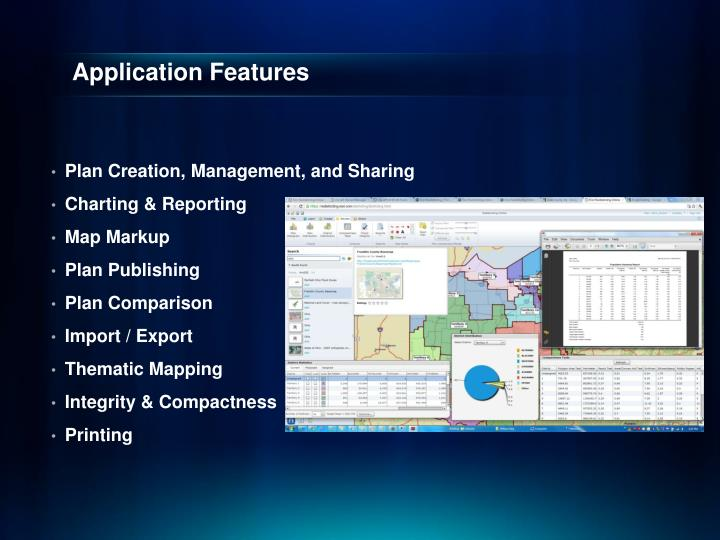 Application Features